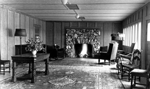 Pan Hot Springs Lobby - Rick Keppler Collection