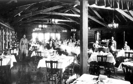 The Woodlands club's main dining room - Rick Keppler collection