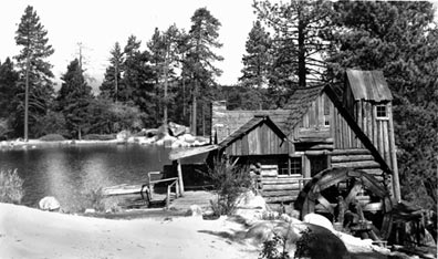 The old Cedar Lake mill. - Rick Keppler collection