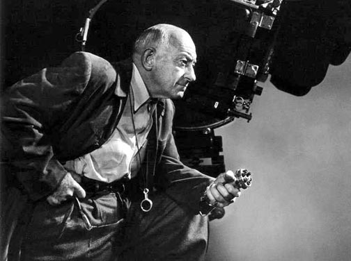Hollywood producer/director Cecil B. DeMille used Big Bear Lake as a film set for many years.  He had a home on the lake, and was a familiar face in the Big Bear community. - Rick Keppler collection.